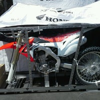 Photo taken at Huntington Beach Honda Motorcycles by Huntington H. on 8/1/2013