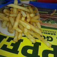 Photo taken at Burger King by Ibrahim S. on 3/2/2013
