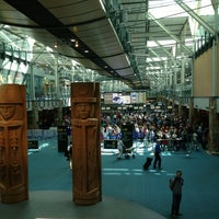 Photo taken at Vancouver International Airport (YVR) by Tony on 7/14/2013