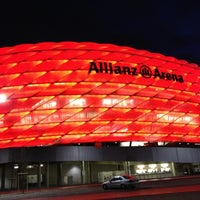 Photo taken at Allianz Arena by Андрей on 12/6/2012