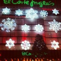 Photo taken at El Corte Inglés by Xavi L. on 12/9/2012