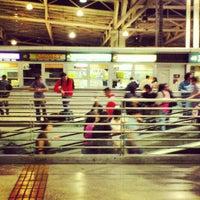 Photo taken at Terminal de Buses San Borja by Francisca V. on 12/22/2012
