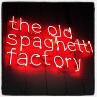 Photo taken at The Old Spaghetti Factory by Andrea H. on 10/14/2012