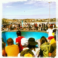 Photo taken at Bondi Skatepark by Camille D. on 11/17/2012