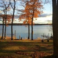 Photo taken at Boy Lake by Kevin M. on 10/7/2012