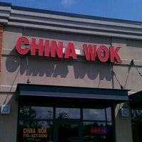 Photo taken at China Wok by David W. on 9/18/2012