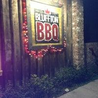 Photo taken at Bluffton BBQ by Christina on 2/7/2013