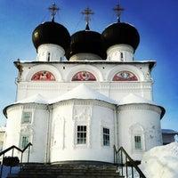 Снимок сделан в Успенский Трифонов монастырь пользователем vera 2/1/2013