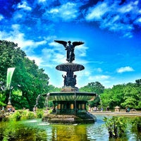 Photo taken at Central Park by Nick B. on 7/13/2013