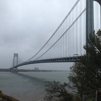 Photo taken at Fort Wadsworth by La Federica on 5/11/2013