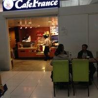 Photo taken at Café France by Mikhail S. on 2/7/2013
