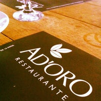 Photo taken at Ad'oro by Ana Lydia S. on 2/26/2013
