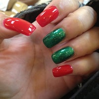 Photo taken at V N Nails by Anitra on 12/11/2012