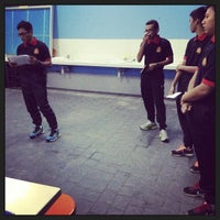 Photo taken at Kolam Renang UiTM by Fiqah A. on 6/22/2013