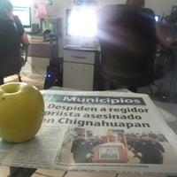 Photo taken at Diario Cambio by Alan on 5/28/2015