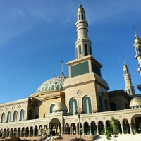 Photo taken at Masjid Islamic Centre by rizang d. on 12/16/2012