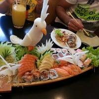 Photo taken at Oishii Sushi by Gizeli D. on 4/27/2013