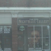 Photo taken at Count Orlock's Nightmare Gallery by Bill J B. on 1/2/2013