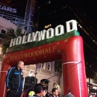 Photo taken at Hollywood Half Marathon & 5k / 10k by Tanisha A. on 4/5/2014