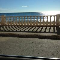 Photo taken at Playa El Salaret / Los Locos by Mikhail on 10/22/2012