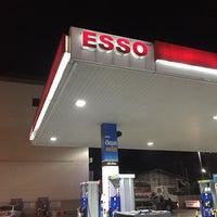 Photo taken at Esso by Jedsada on 1/5/2016
