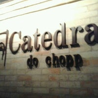 Photo taken at Catedral do Chopp by Patricia F. on 3/23/2013