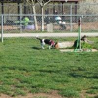 Photo taken at Robert A. Stuart Dog Park by Aaron E. on 4/24/2013