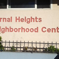 Photo taken at Bernal Heights Neighborhood Center by Afolabi on 12/7/2012