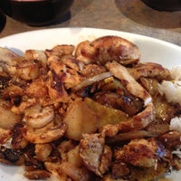 Photo taken at BD's Mongolian BBQ by Erin B. on 9/14/2012