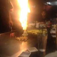 Photo taken at Wasabi Japanese Steakhouse & Sushi Bar by Mike on 10/24/2012