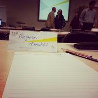 Photo taken at EYU - Ernst & Young University by Alejandro A. on 11/27/2012