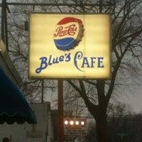 Photo taken at Blue's cafe by David Shestokas on 12/20/2012