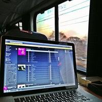 Photo taken at Amtrak Acela 2173 by Jefferson P. on 4/1/2013