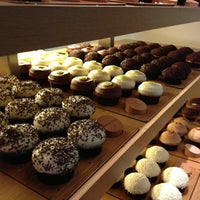 Photo taken at Sprinkles Cupcakes by Emily T. on 12/22/2012