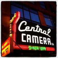 Photo taken at Central Camera by Bill H. on 10/24/2012