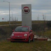 Photo taken at Bergstrom FIAT of Milwaukee by R.L. L. on 11/24/2012