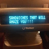 Photo taken at Potbelly Sandwich Shop by Grace on 10/18/2013