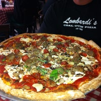 Photo taken at Lombardi's Coal Oven Pizza by LA Travel M. on 5/26/2013
