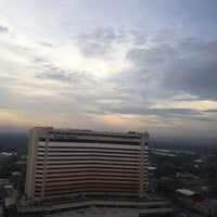 Photo taken at Dusit Thani Manila by Мануэль В. on 7/3/2013