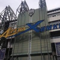 Photo taken at Arena Khimki by Ольга on 10/21/2012