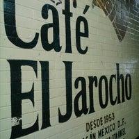 Photo taken at Café El Jarocho by Miguel V. on 12/18/2013