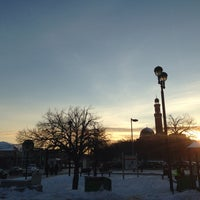 Photo taken at MBTA Roxbury Crossing Station by Totsaporn I. on 2/4/2014