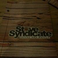 Photo taken at Stove Syndicate (Coffee & Waffle) by Kenzi P. on 7/20/2015