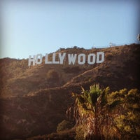 Photo taken at Hollywood Sign by Daniel L. on 8/16/2013
