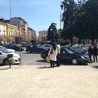 Photo taken at Piazza Libertà by Maxio75 on 4/13/2013