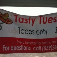 Photo taken at El Super Antojito-Taco Truck by Raymond R. on 7/23/2013