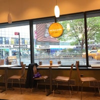 Photo taken at Au Bon Pain by choi v. on 5/1/2016