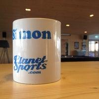 Photo taken at Planet Sports Headquarter by Simon B. on 9/10/2014