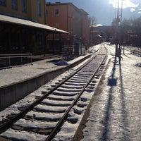 Photo taken at Bahnhof Miesbach by Simon B. on 12/8/2013