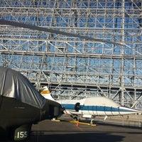 Photo taken at Hangar One (Building 1) by Jennifer T. on 8/21/2013